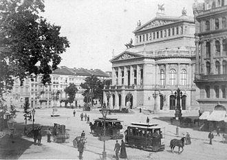 Alte Oper - Frankfurt Opera House, c. 1880