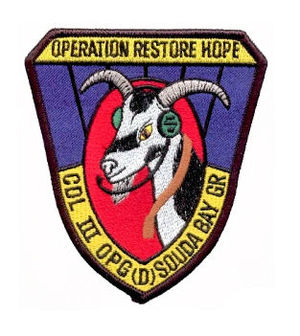 453rd Operations Group - Emblem of Operation Restore Hope