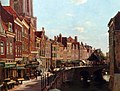 Oppenoorth Willem Townsfolk Shopping Along The Oude Gracht Utrecht.jpg