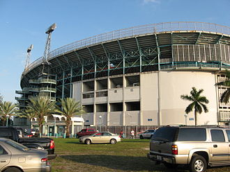Miami Orange Bowl - Miami Orange Bowl, North Gate