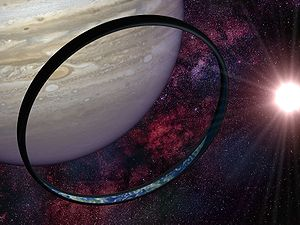 Artist's impression of an Orbital from the &qu...