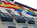Orgullo Madrid 2007 - Banderas.jpg