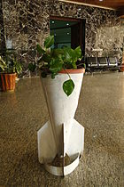 Original Bomb Casing Used as Flower Pot - Halabja Memorial - Halabja - Kurdistan - Iraq