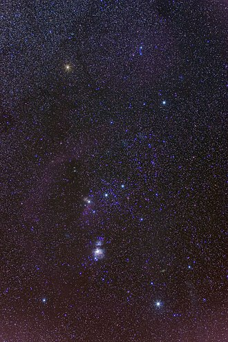 Orion (constellation) - Click on to see large image
