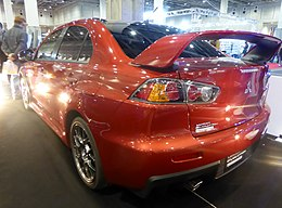 Osaka Auto Messe 2016 (566) - Mitsubishi LANCER EVOLUTION FINAL EDITION (CBA-CZ4A).jpg