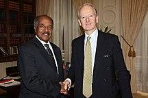 Eritrea-General-Osman Saleh Mohammed and Henry Bellingham