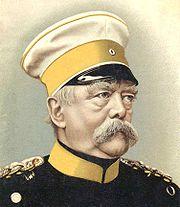 Bismarck, late in his career.