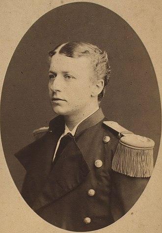 Chief of the Royal Danish Navy - Image: Otto J. M. Kofoed Hansen by Georg E. Hansen