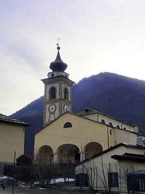 Oulx - Parish Church of Oulx