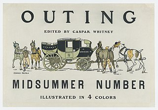 <i>Outing</i> (magazine) magazine discussing various sporting activities