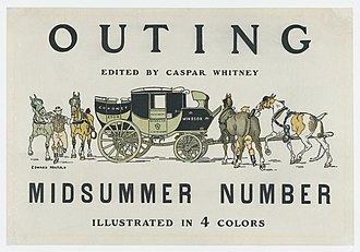 Outing (magazine) - Edward Penfield poster for Outing, 1890s