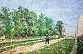 Outskirts of Paris; Road with Peasant Shouldering a Spade - My Dream.jpg