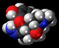 Oxymorphazone molecule spacefill.png