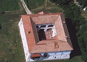 Ozora - Aerial photograph of Ozora Castle