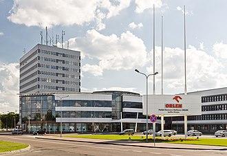 PKN Orlen - PKN Orlen headquarters in Płock, Poland.