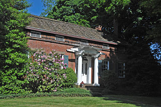 Parsonage of the Montville Reformed Dutch Church United States historic place