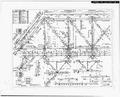 PLAN SHEET SHOWING CROSS MEMBERS - Frost Bridge Road Bridge, Spanning Naugatuck River, Thomaston, Litchfield County, CT HAER CONN,3-THOM,1-13.tif