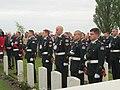 PPCLI Regiment at Voormezeele Cemetery Ceremony, Belgium (17376505520).jpg