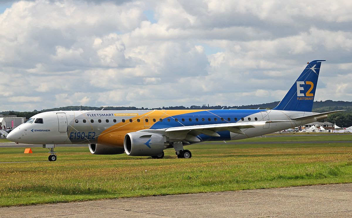 Embraer E Jet E2 Family Wikipedia