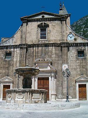 Pacentro - Church of Santa Maria della Misericordia