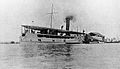 Paddle steamer and covered barge for sick Wellcome L0024169.jpg