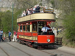 Paisley District Tram (1919) at Crich Tramway Museum, Derbyshire - geograph.org.uk - 628909.jpg