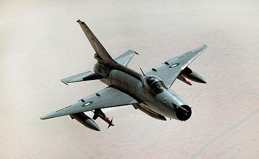 Pakistani Chengdu J-7