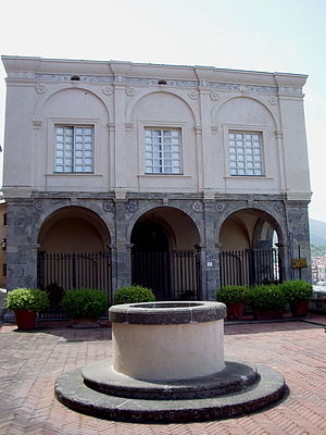 State of the Presidi - The Palazzo dei Governanti, seat of the Spanish governors in Porto Ercole.