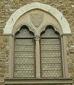 Palazzo dei Vescovi a San Miniato al Monte, finestra 01.JPG