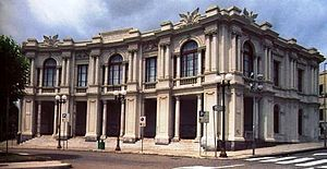 Metropolitan City of Messina - Palazzo del Leoni, the provincial seat