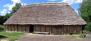 Byre-dwelling - A reconstruction