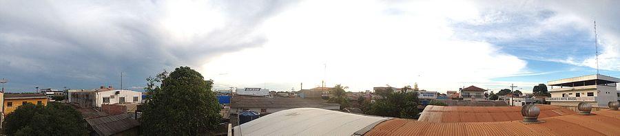 d64aed27db Panorama parcial de Espigão do Oeste