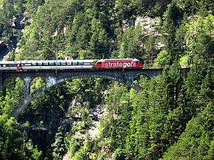 Swiss Federal Railways - InterCity on the Gotthard Line