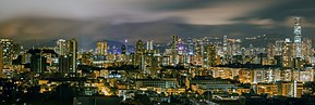 Panoramic view of Hong Kong from Wikimania Dorms.jpg