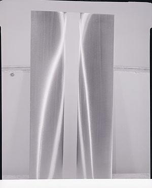 Getulio Alviani - Aluminium panels. Photo by Paolo Monti, 1963 (Fondo Paolo Monti, BEIC)