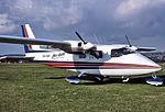 Par Avion Partenavia P-68B (VH-FAP) at Parafield Airport.jpg