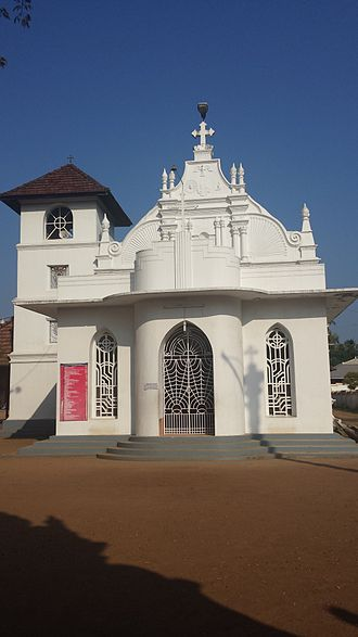 Gregorios Abdal Jaleel - Paravur St. Thomas Jacobite Syrian Church which houses the tomb of Mar Gregorios Abdal Jaleel.