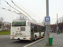 Pardubice, Škoda 24Tr Irisbus, zezadu.jpg