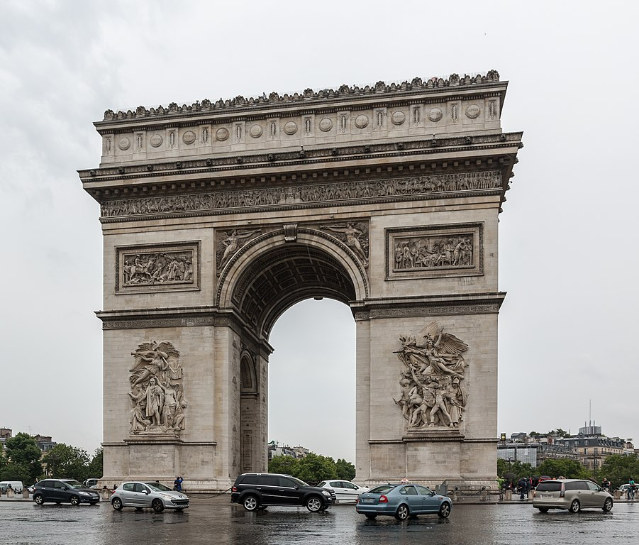 see: Arc de Triomphe