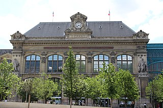 terminus railway station in Paris, France