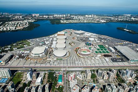 Barra Olympic Park, built for 2016 Summer Olympics Parque Olimpico Rio 2016 (cropped).jpg