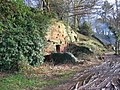 Part of dwelling hewn out of sandstone rock - geograph.org.uk - 309265.jpg