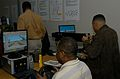 Participants in the Employer Support for the Guard and Reserve Bosslift program use the Virtual Convoy Trainer.jpg