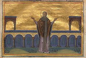 John IV of Constantinople - Image: Patriarch John IV of Constantinople (Menologion of Basil II)