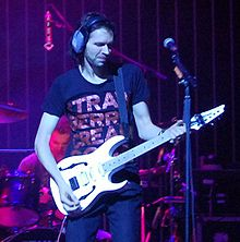 Paul Gilbert na koncertě v Massey Hall