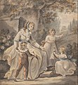 Paul Sandby - A Nurse with Three Children - Google Art Project.jpg