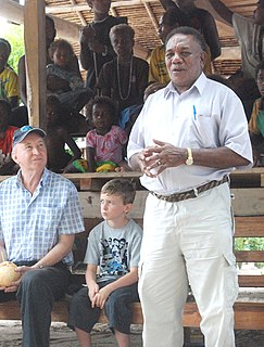 Paul Tovua Solomon Islands politician