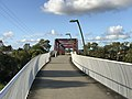 Pedestrian bridge across Logan River, Loganholme, Queensland 01.jpg