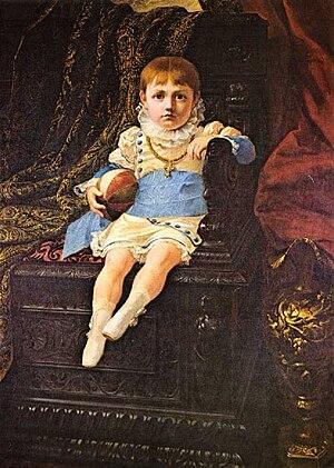 John IV of Portugal - Portrait of D. John IV as an Infant; Pedro Américo, 1879.