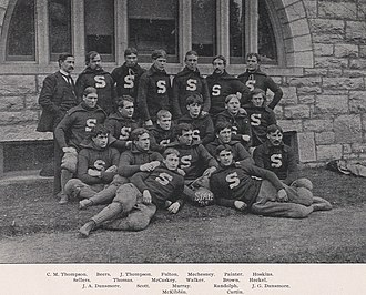 1895 Penn State Nittany Lions football team - Image: Penn State Football 1895